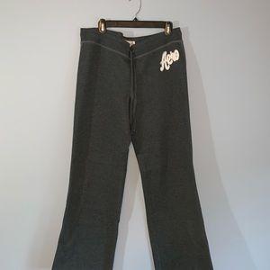 Aeropostale Dark Grey Fleece Sweatpants